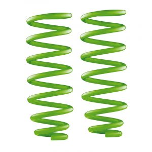 medium Green Coil Springs