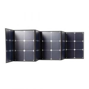 Ironman 4x4 120w solar matt with regulator-121155