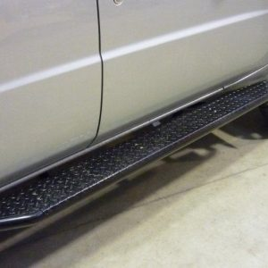 Ironman 4x4 Nissan Gu Side Rails and Steps 007