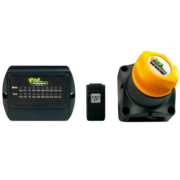 Ironman 4x4 dual battery kit 275amp-131216