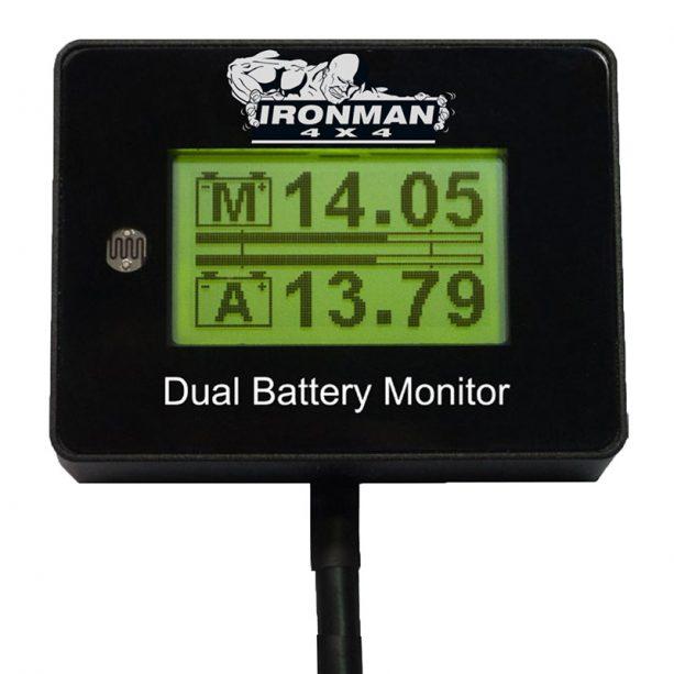 ironman4x4 12vdigital battery monitor-130144
