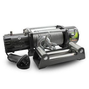 ironman 4x4 fleet 12v electric winch 9500
