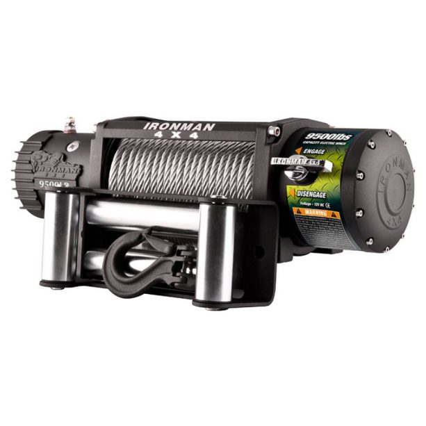 monster winch 9500lbs 12v electric