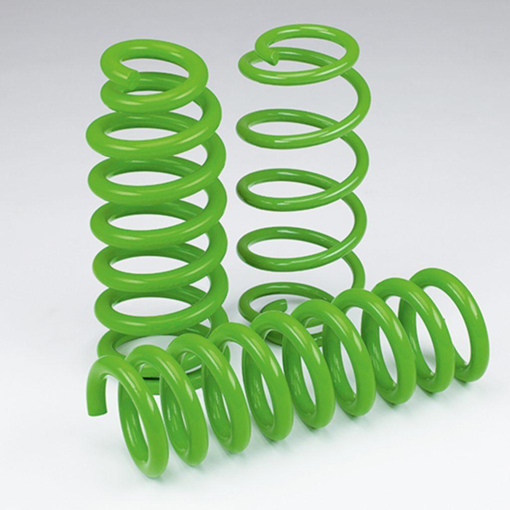 coil springs green