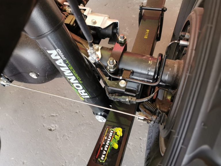 Foam Cell PRO and Leaf Spring