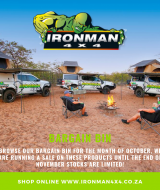 Get outdoors with ironman 4x4